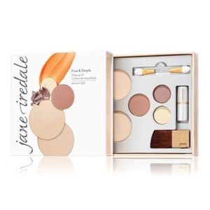 Jane Iredale Pure and Simple Kit-Light, Brand New!